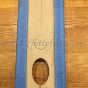 aluker - Schienale P965 P966TH - sfufa a pellet - Effetto fuoco - Ricambi per stufe a pellet e legna Piazzetta e Superior