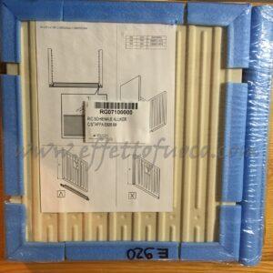 aluker - schienale E920 Effetto fuoco - Ricambi per stufe a pellet e legna Piazzetta e Superior