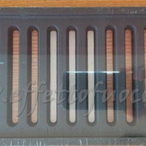 griglia 26x14cm Effetto fuoco - Ricambi per stufe a pellet e legna Piazzetta e Superior