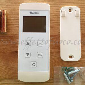 telecomando GRF - sfufa a pellet - Effetto fuoco - Ricambi per stufe a pellet e legna Piazzetta e Superior
