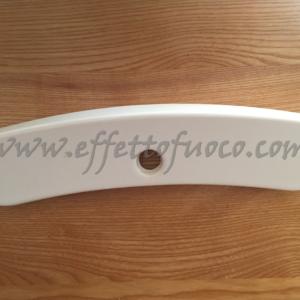 maiolica Milly bianco - sfufa a pellet - Effetto fuoco - Ricambi per stufe a pellet e legna Piazzetta e Superior