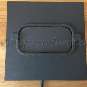 deflettore centrale multinsert Effetto fuoco - Ricambi per stufe a pellet e legna Piazzetta e Superior