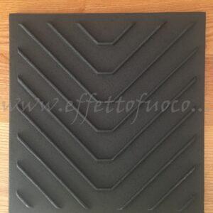 deflettore ghisa E903- sfufa a legna - Effetto fuoco - Ricambi per stufe a pellet e legna Piazzetta e Superior