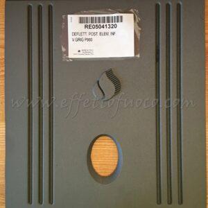 deflettore posteriore inferiore P960- sfufa a pellet - Effetto fuoco - Ricambi per stufe a pellet e legna Piazzetta e Superior