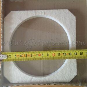 guarnizione ventilatore multifuoco - sfufa a pellet - Effetto fuoco - Ricambi per stufe a pellet e legna Piazzetta e Superior