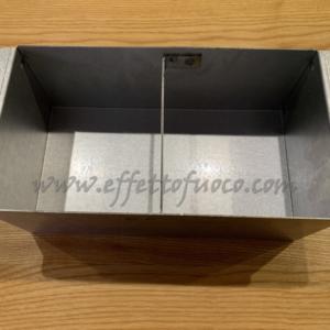 Cassetto cenere HT 600 - Effetto fuoco - Ricambi per stufe a pellet e legna Piazzetta e Superior