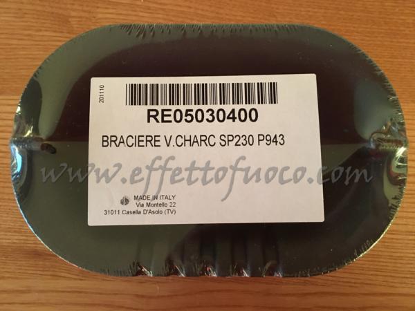 braciere sp230 p943 - Effetto fuoco - Ricambi per stufe a pellet e legna Piazzetta e Superior